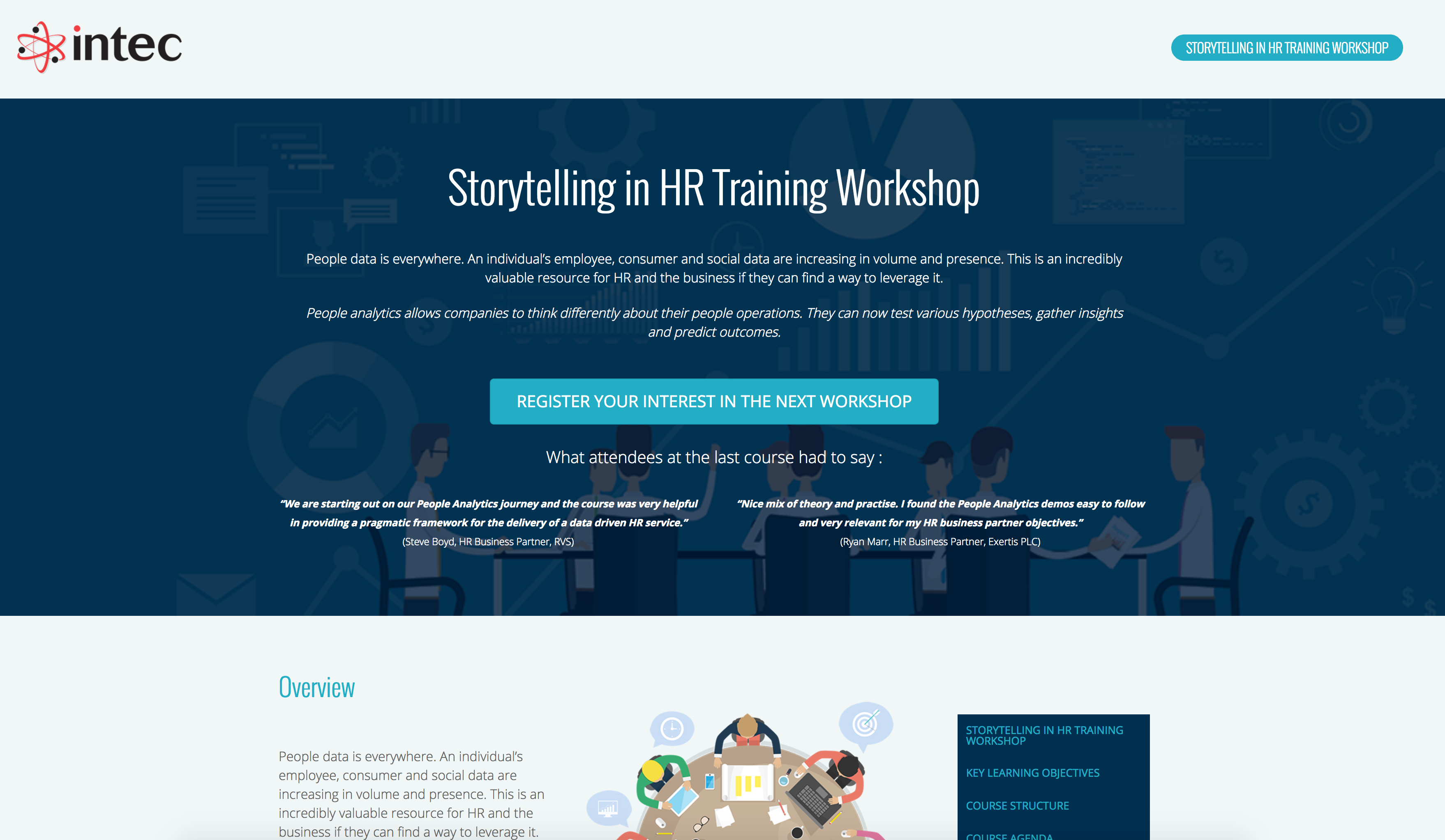 Storytelling in HR Workshop