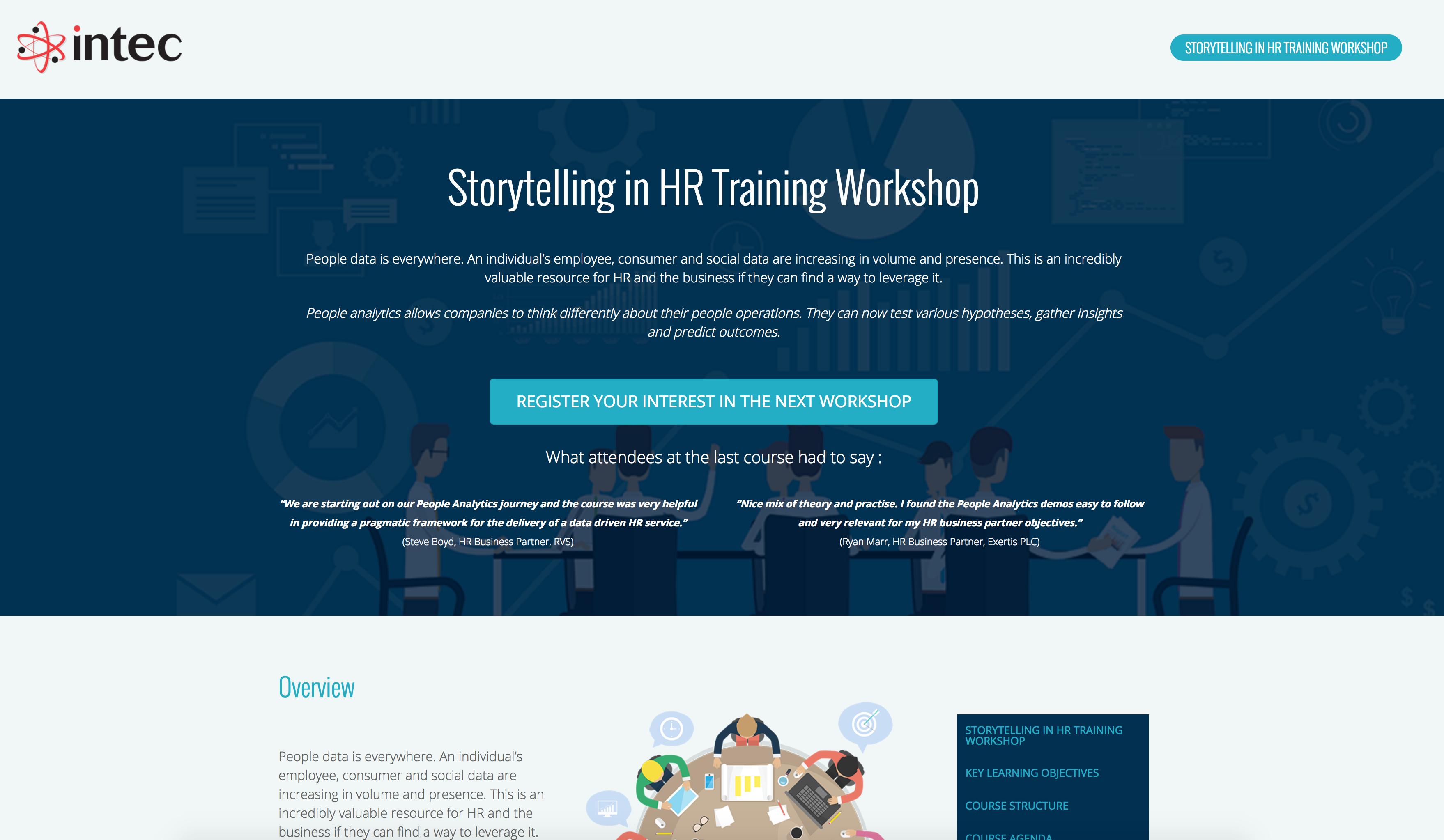 Storytelling in HR Workshop